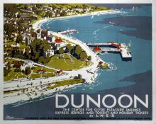 Old Dunoon Travel Poster