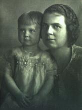 Clara Marguerite (Denune) Haviland & her daughter Cina Haviland