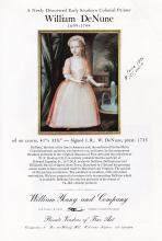 Dr. William Denune Painting, 1976 Advert