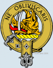 Clan Campbell Crest with motto: Do Not Forget