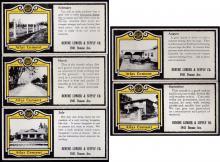 John Baughman Denune's, Denune Lumber & Supply Ink Blotters