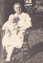 Fannie Fern (Ferris) Denune & Mary Francis Denune
