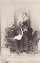 John Perdue Horn & Hulda Williams (Denune) Horn