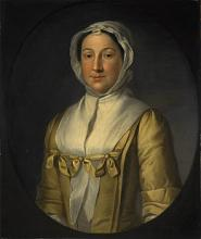 Painting of Mrs Thomas Ruddiman by William Denune