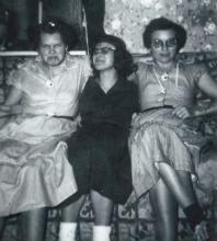 Myrtle Mae Cooper, Helen Louise Cooper, Martha Ellen Cooper