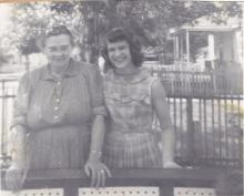 Helen Louise (Cooper) Williams, Ollie Patricia Evans